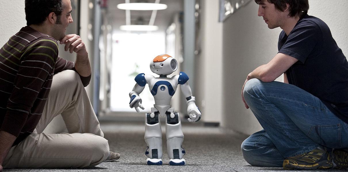 Роботы люди картинки