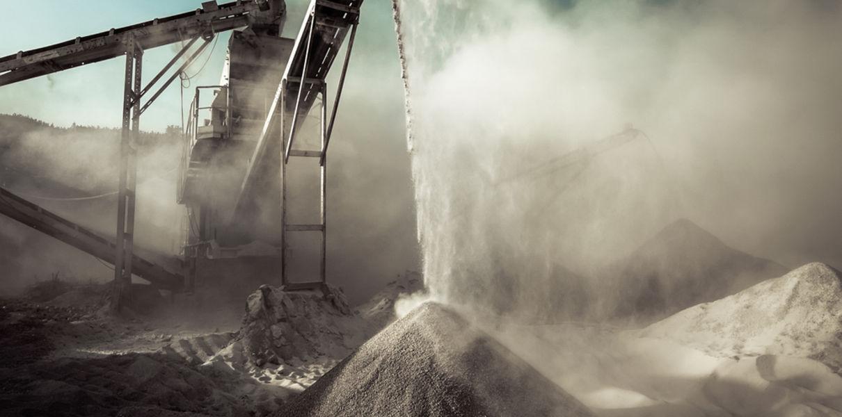 выбросы от заводов по производству бетона