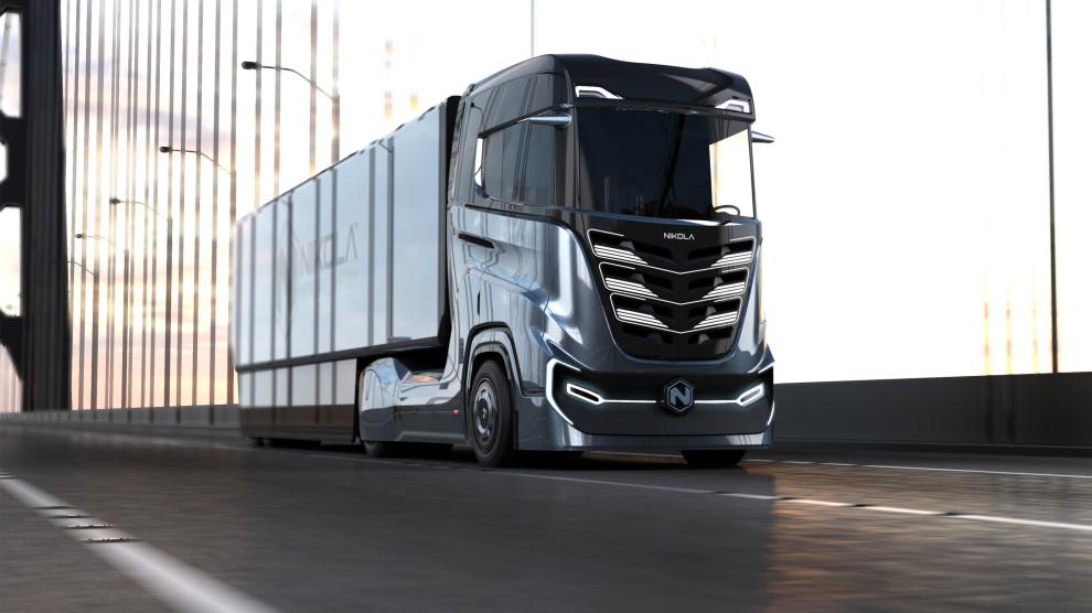 Картинки по запросу Nikola Motor представила беспилотный тягач с водородным двигателем