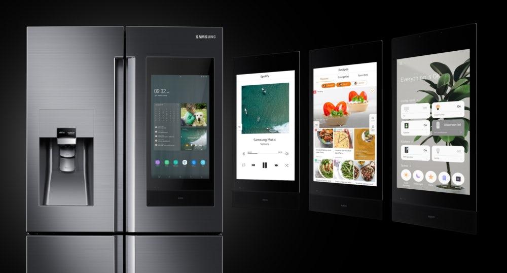 Картинки по запросу Samsung представила говорящий холодильник с искусственным интеллектом