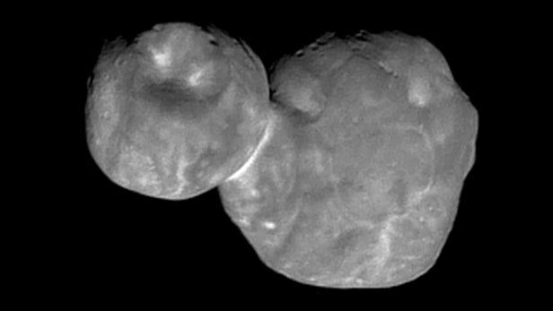 New Horizons продемонстрировал ямы иборозды наповерхности Ультимы Туле