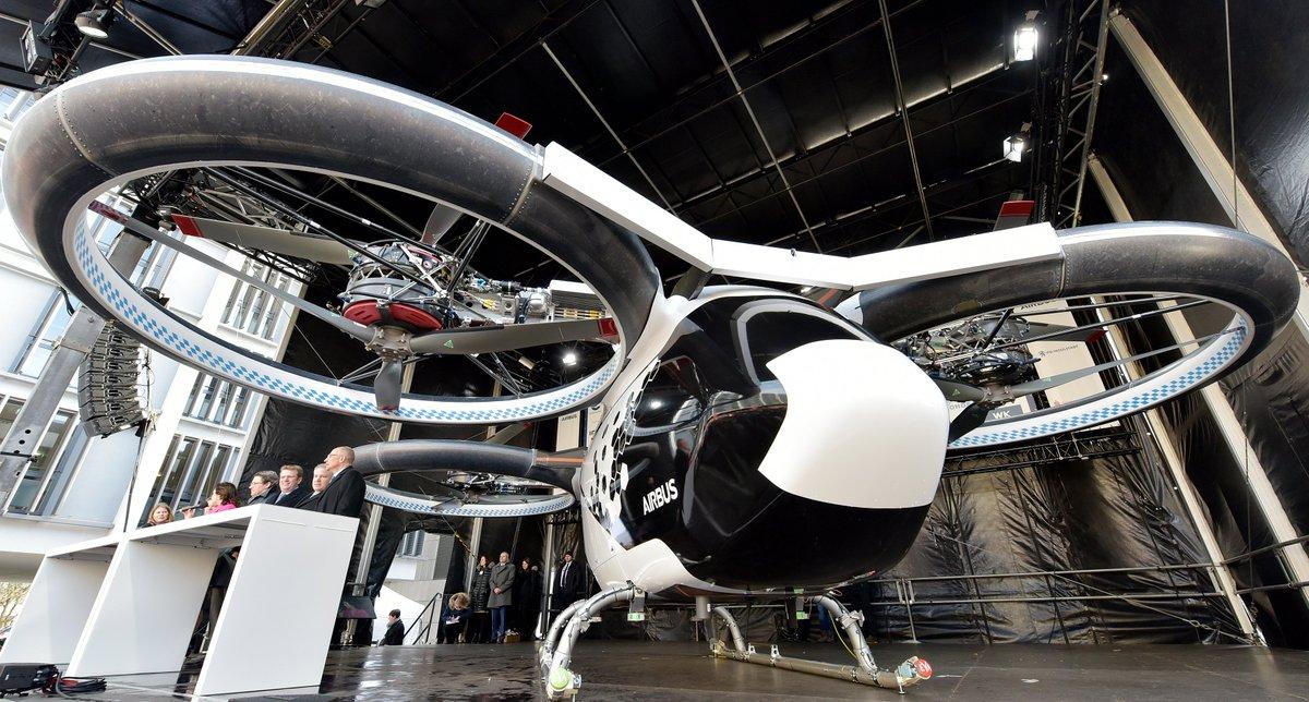Картинки по запросу Airbus впервые представил прототип летающего такси CityAirbus. Посмотрите на него прямо сейчас!