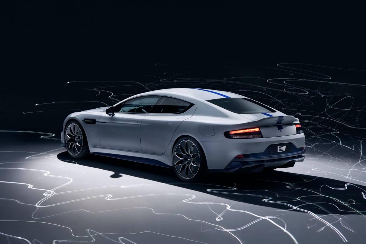 Aston Martin представил свой первый электромобиль - Фото; Видео