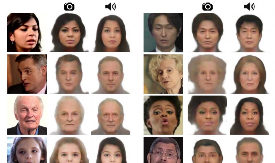 Искусственный интеллект научился рисовать лицо человека по его голосу