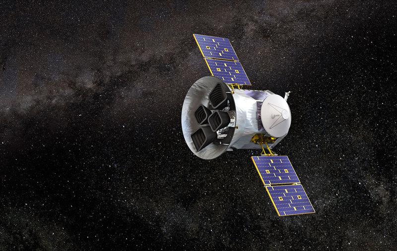 Телескоп TESS обнаружил в созвездии Золот