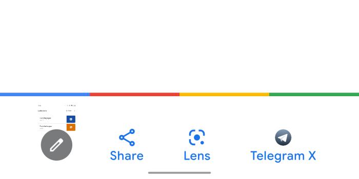 Google тестирует систему умного поиска по скриншотам на Android
