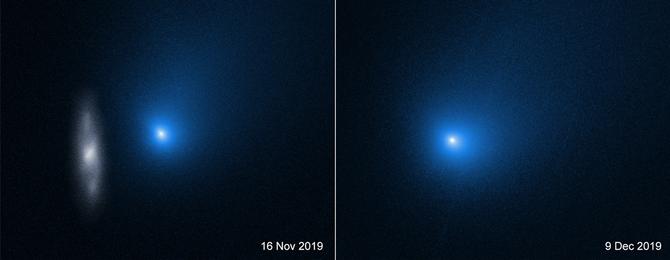 Картинки по запросу Межзвездная комета 2I/Borisov оказалась в 15 раз меньше, чем предполагали ученые
