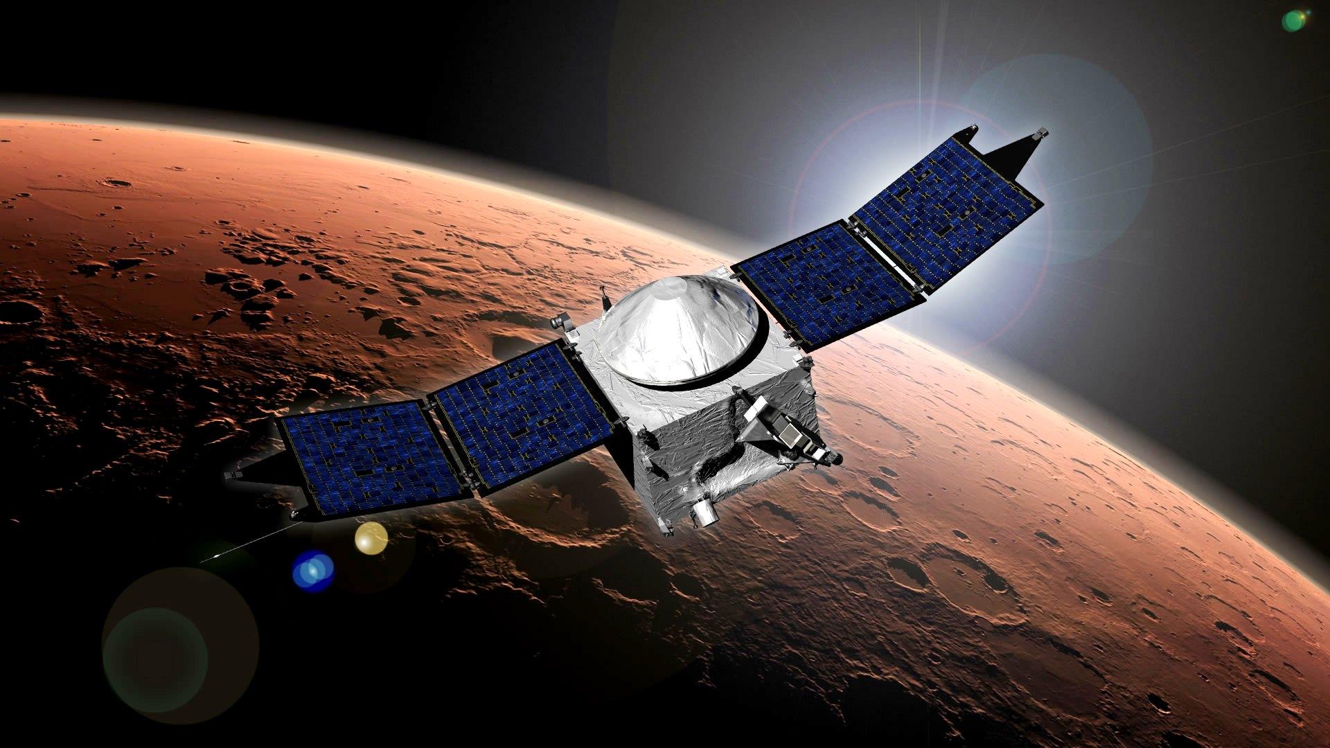 Обои огненный хвост, астероид, планеты. Космос foto 19