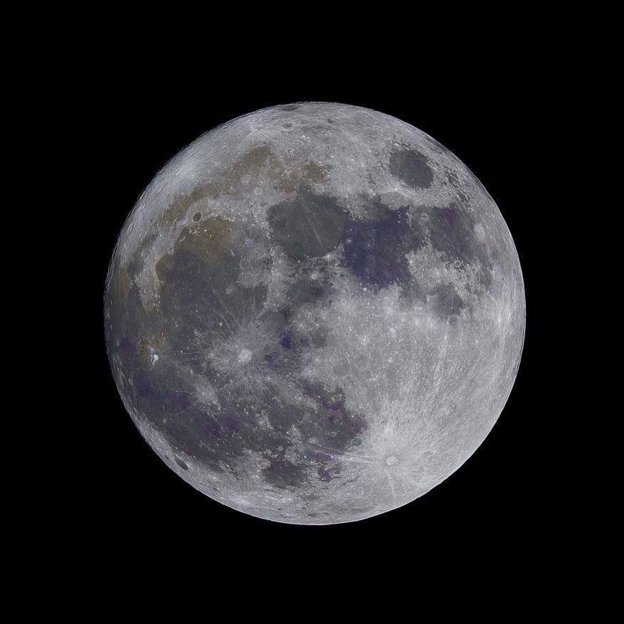 Выбросы углерода на Луне поставили под