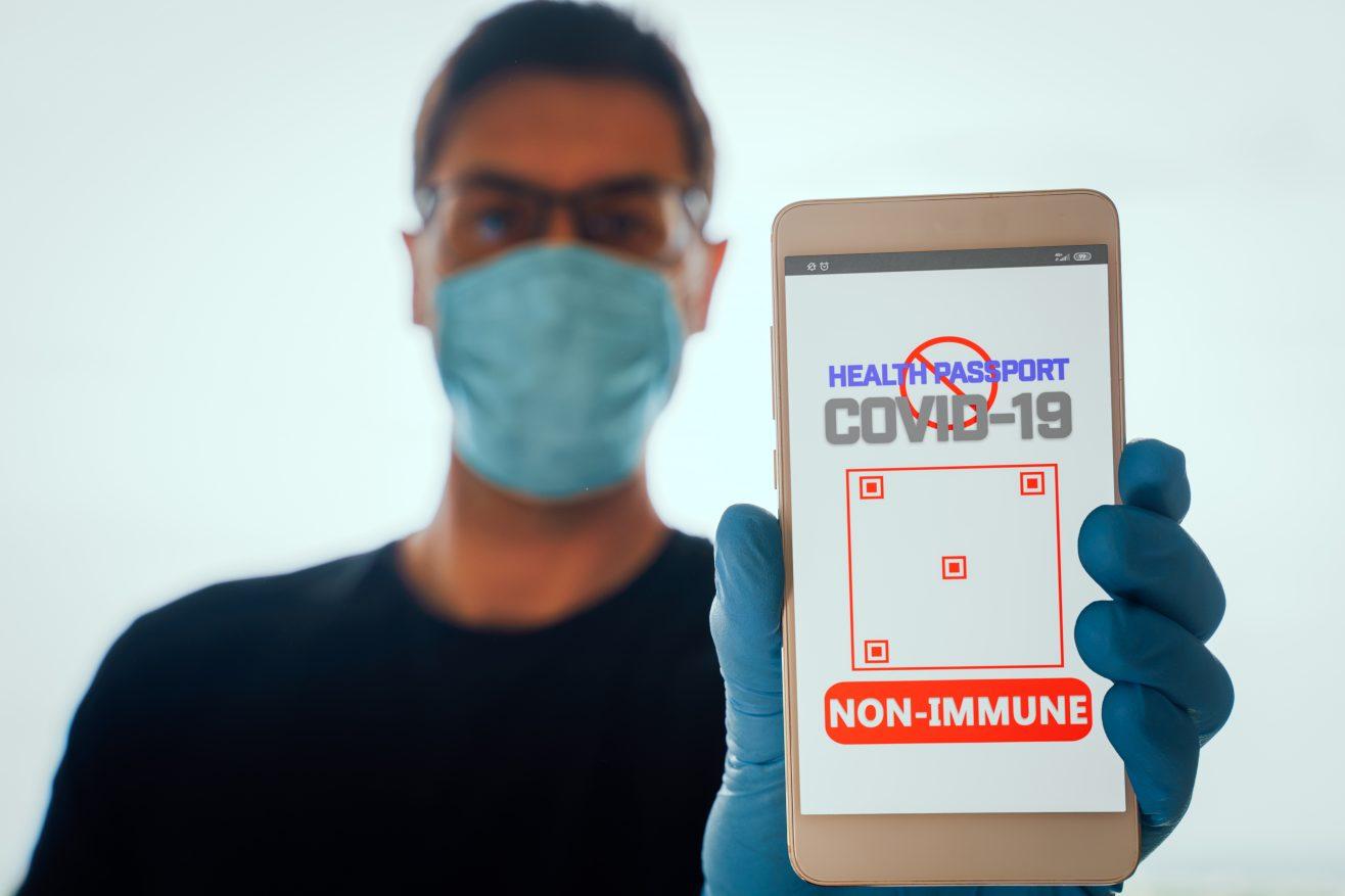 Введение иммунных паспортов вызовет волну дискриминации в мире
