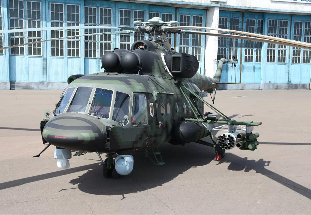 В России испытывают новый вертолет для спецназа