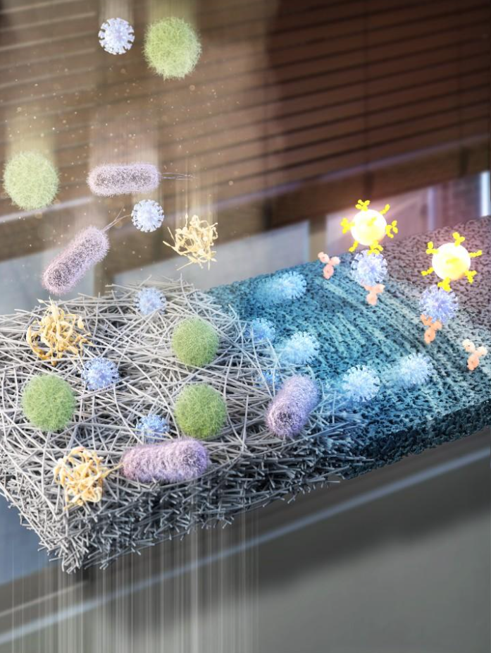 Небезпечні віруси в повітрі тепер можна знайти в польових умовах