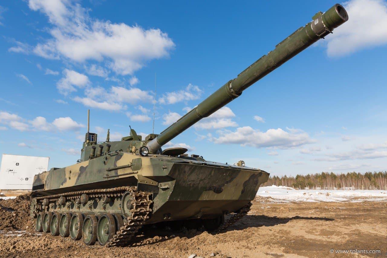 Посмотрите на первый в мире плавающий танк «Спрут»