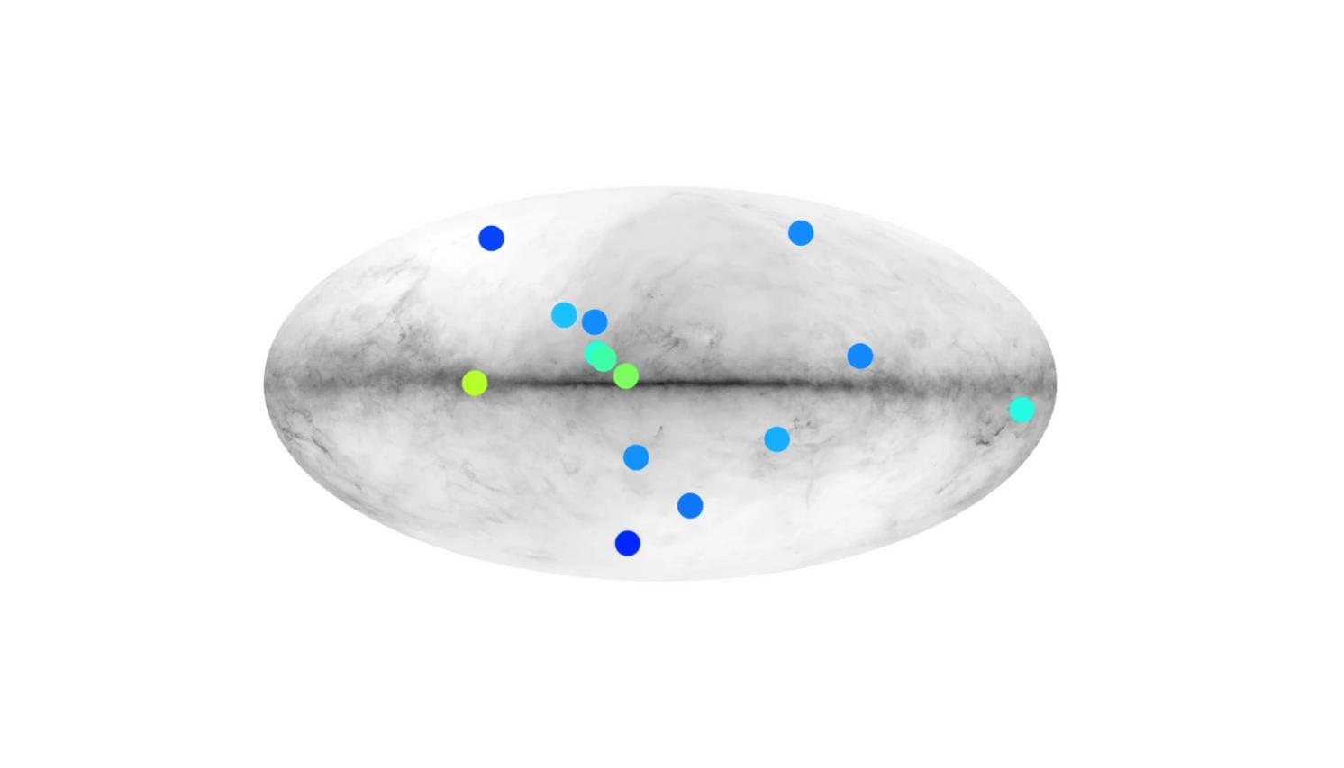 Вчені показали карту Чумацького Шляху, де можуть ховатися зірки з антиматерії